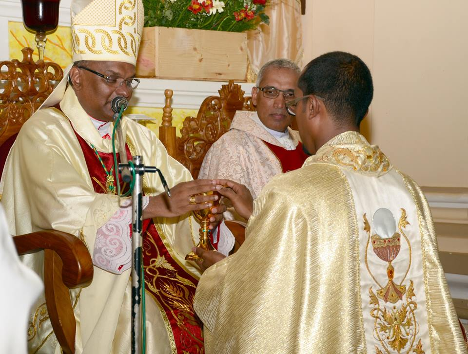 Priestly ordination of Tharaka D. Perera