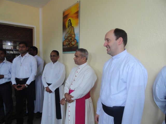 Blessing of the new Building at the Novitiate